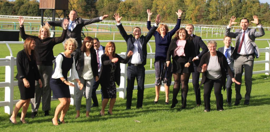hearnden staff jumping in the air